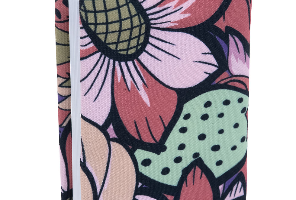 Prayer Book Cover- Colorful Flowers