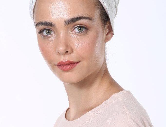 Partial/Full Turban - Basic Cotton Light Grey