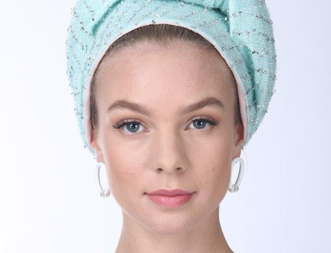 Partial/Full Volumized Turban - Rugged Mint