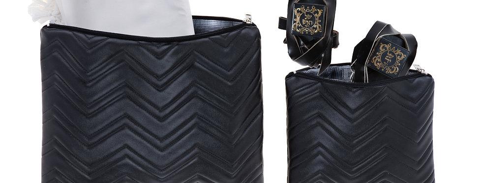 Set - Luxury Black Zigzag
