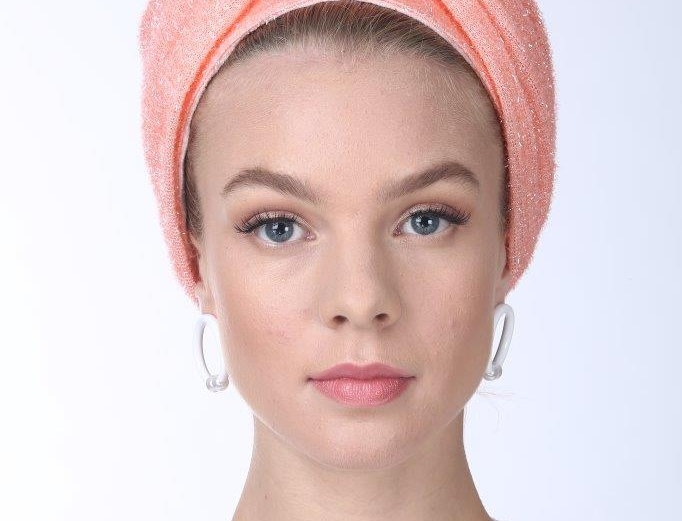 Partial/Full Volumized Turban - Rugged Peach