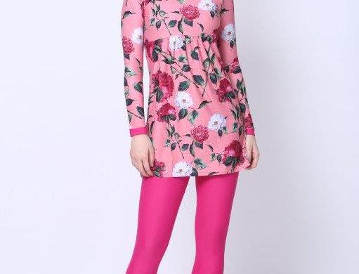 Burkini - Pink Floral