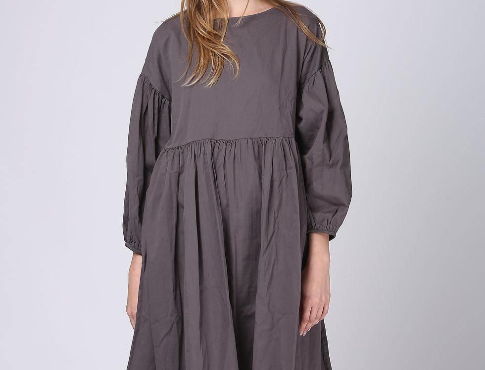 Oversize June Dress - Dark Grey