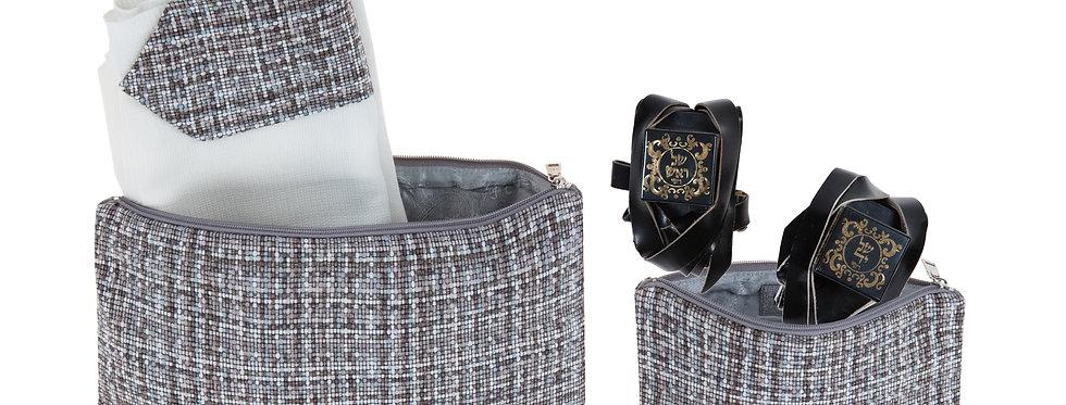 Set - Luxury Plaid Silver