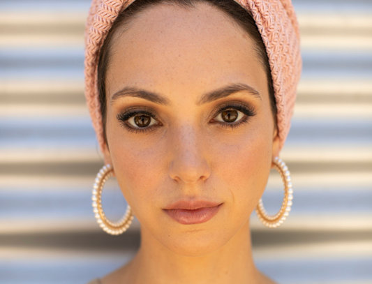 Knot Turban - Knitted Pink