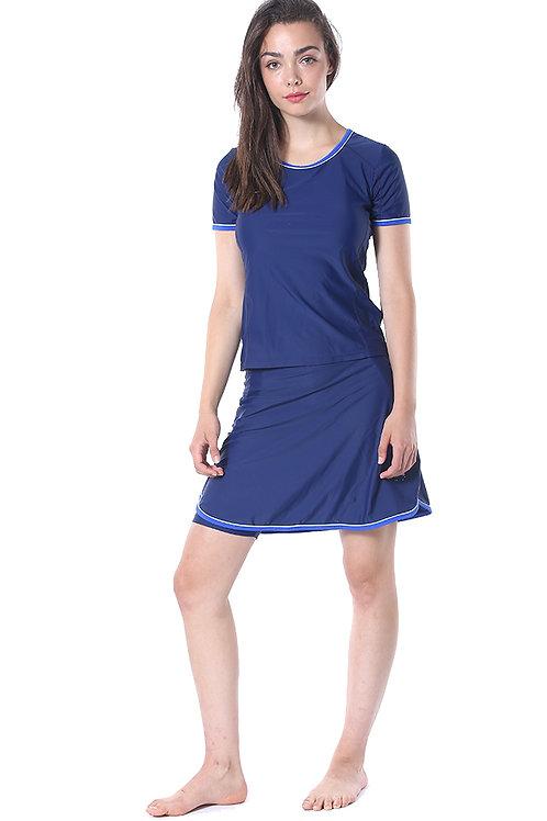 Modest Swimwear- Sporty Model Blue