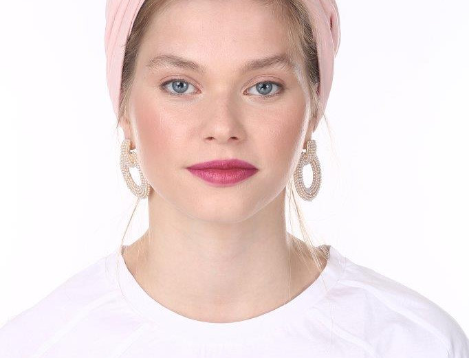 Partial/Full Knot Turban - Basic Baby Pink