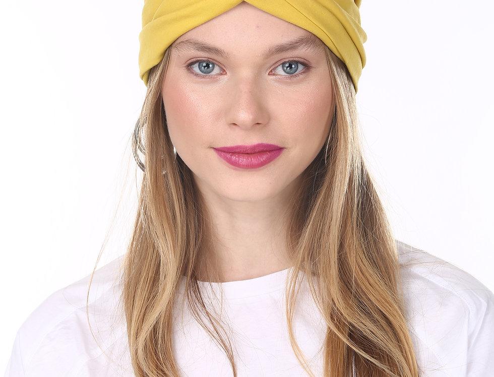 Thin Turban - Basic Mustard