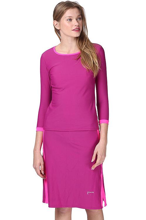 Modest Swimwear- Purple Pink Neon