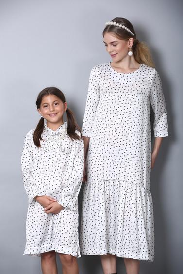 Matching dresses