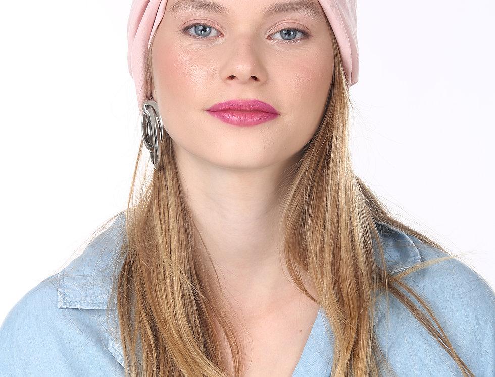 Thin Turban -  Basic Baby Pink