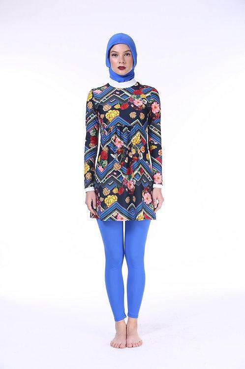 Burkini without Hijab - Folk Tropic
