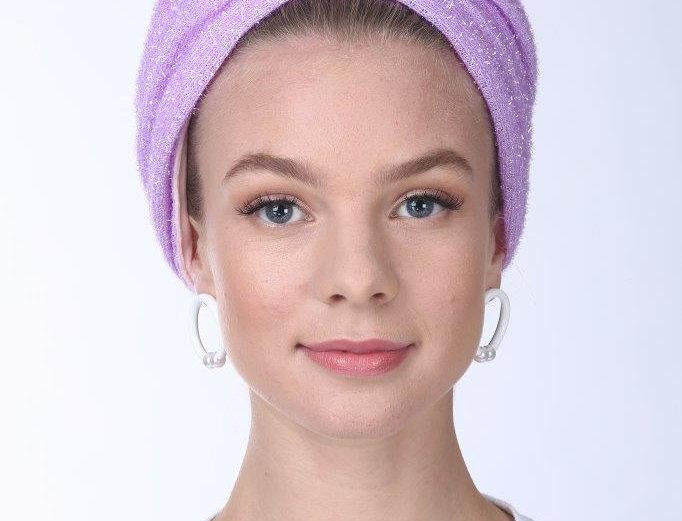 Partial/Full Turban - Rugged Lila