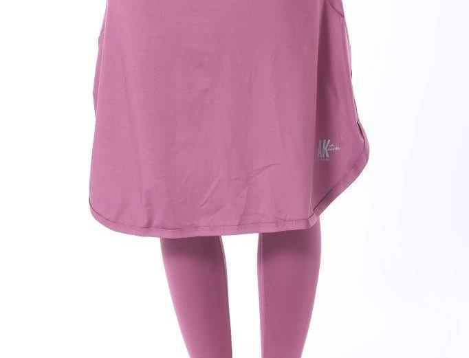 Long Sports Skirt - Pink
