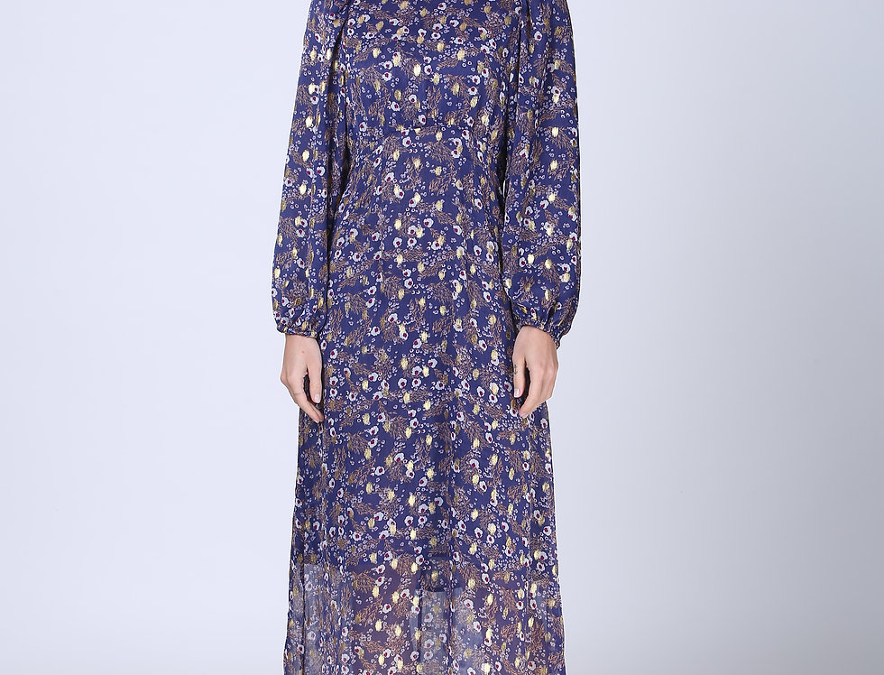 Diana Dress -Purple