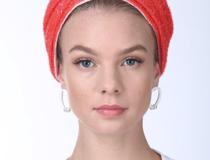 Partial/Full Turban - Rugged Red Orange