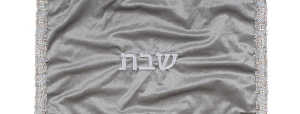 Challah Cover - Grey Pastel
