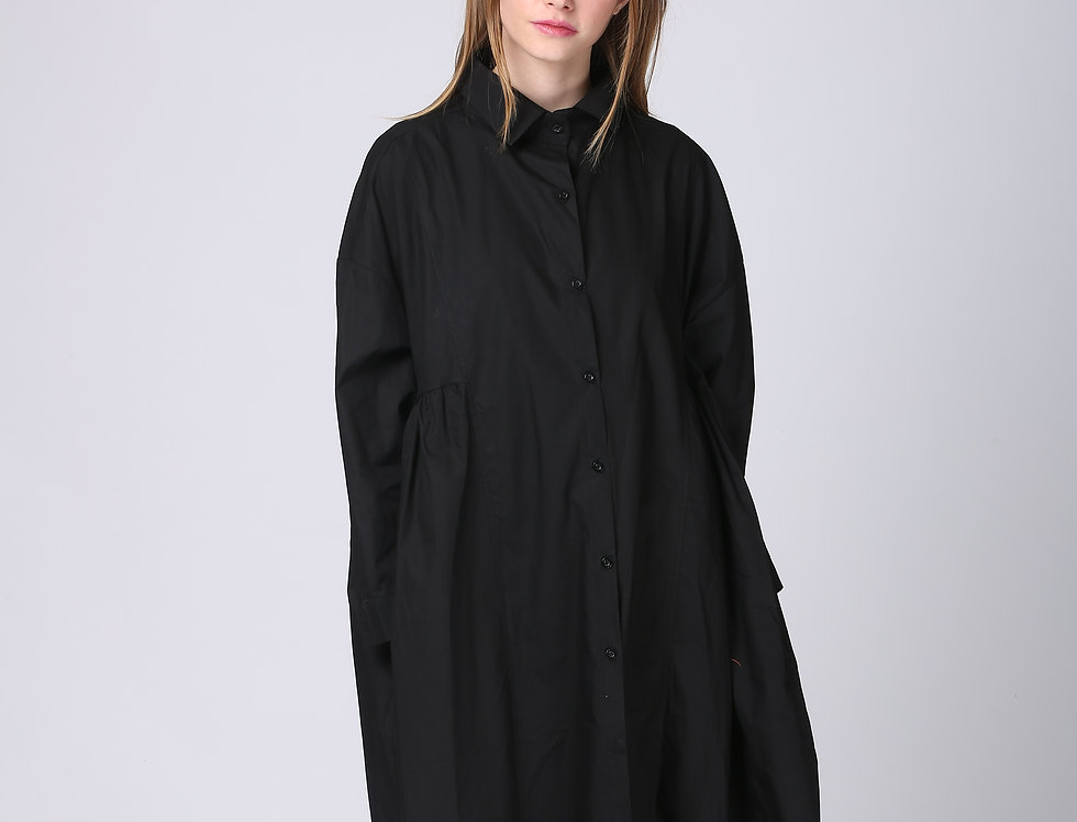 Oversize May Dress - Black