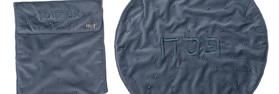 Matza Cover Set - Grey