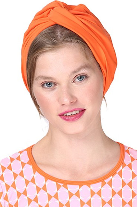 Orange Swim Turban