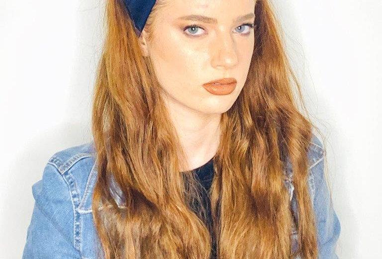Thin Turban - Navy Blue