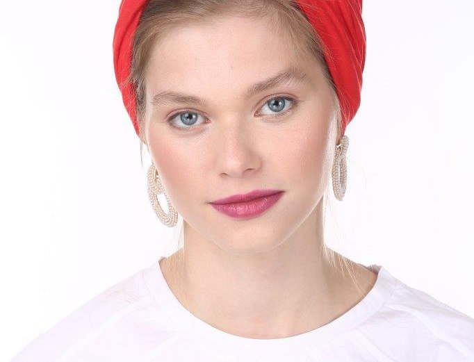 Partial/Full Knot Turban - Basic Red
