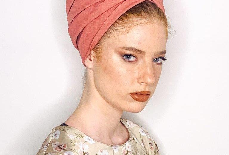Partial/Full Turban - Pink