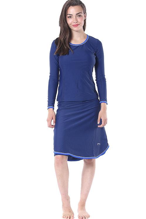 Modest Swimwear- Sporty Model - Blue