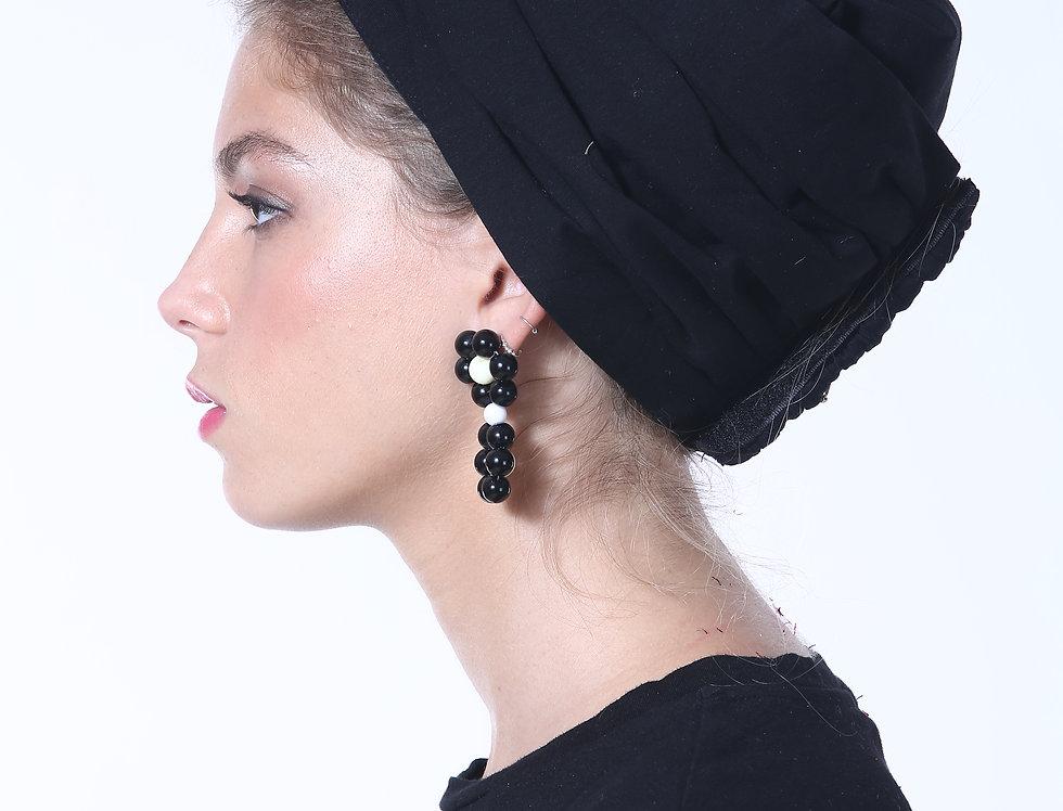 Knot Turban - Basic Cotton Black