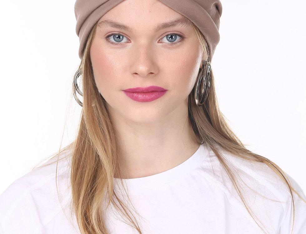 Thin Turban - Basic Mocha