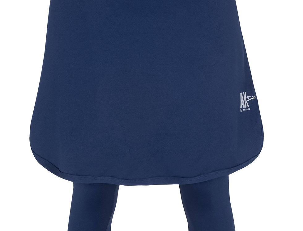 Short Sports Skirt - Dark Blue