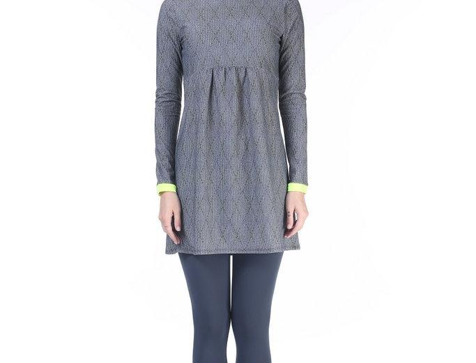 Burkini -Knitt print