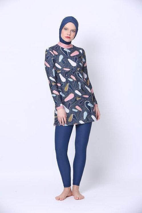 Burkini including Hijab - Petal & Dots