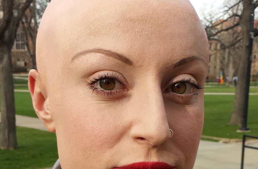 CU Boulder Advanced Makeup Design demo