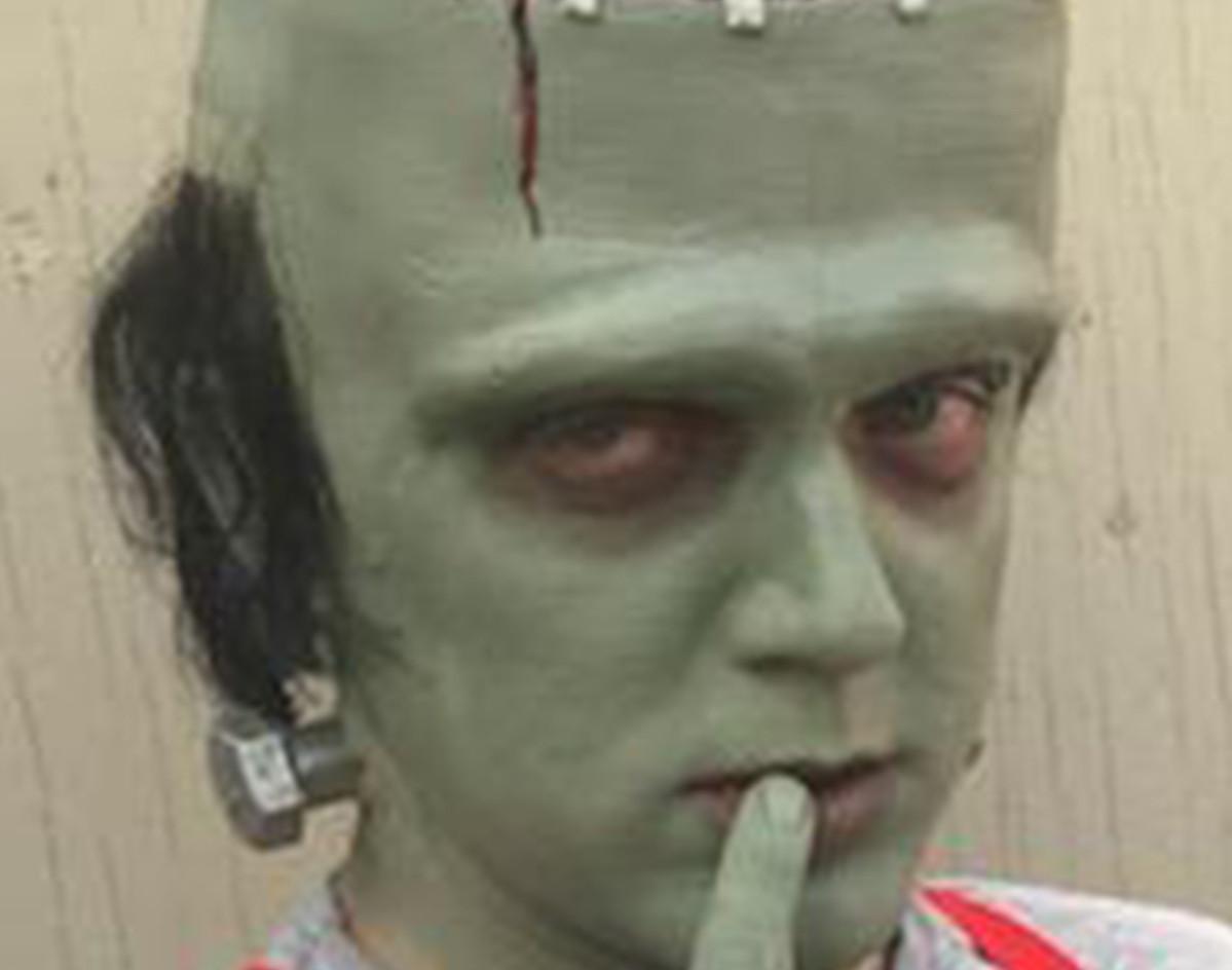 Frankenstein makeup for Miscast 2019
