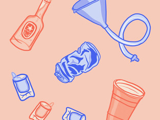 I'm Shmacked: Alcohol Abuse in College