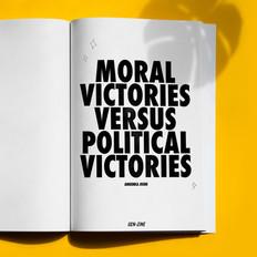 Moral Victories v Political Victories