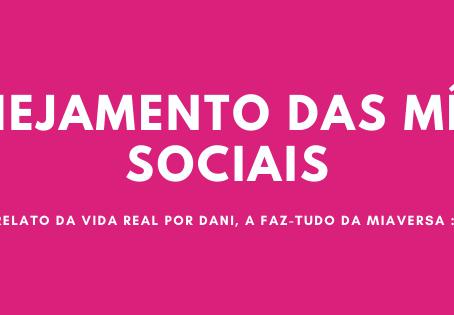Bastidores #3 - Mídias sociais