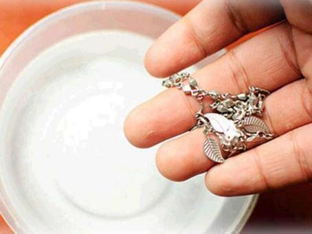 Cuidados #1 - Como limpar suas jóias em casa