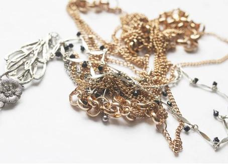 Cuidados #2 - Como armazenar colares e correntes de forma certa