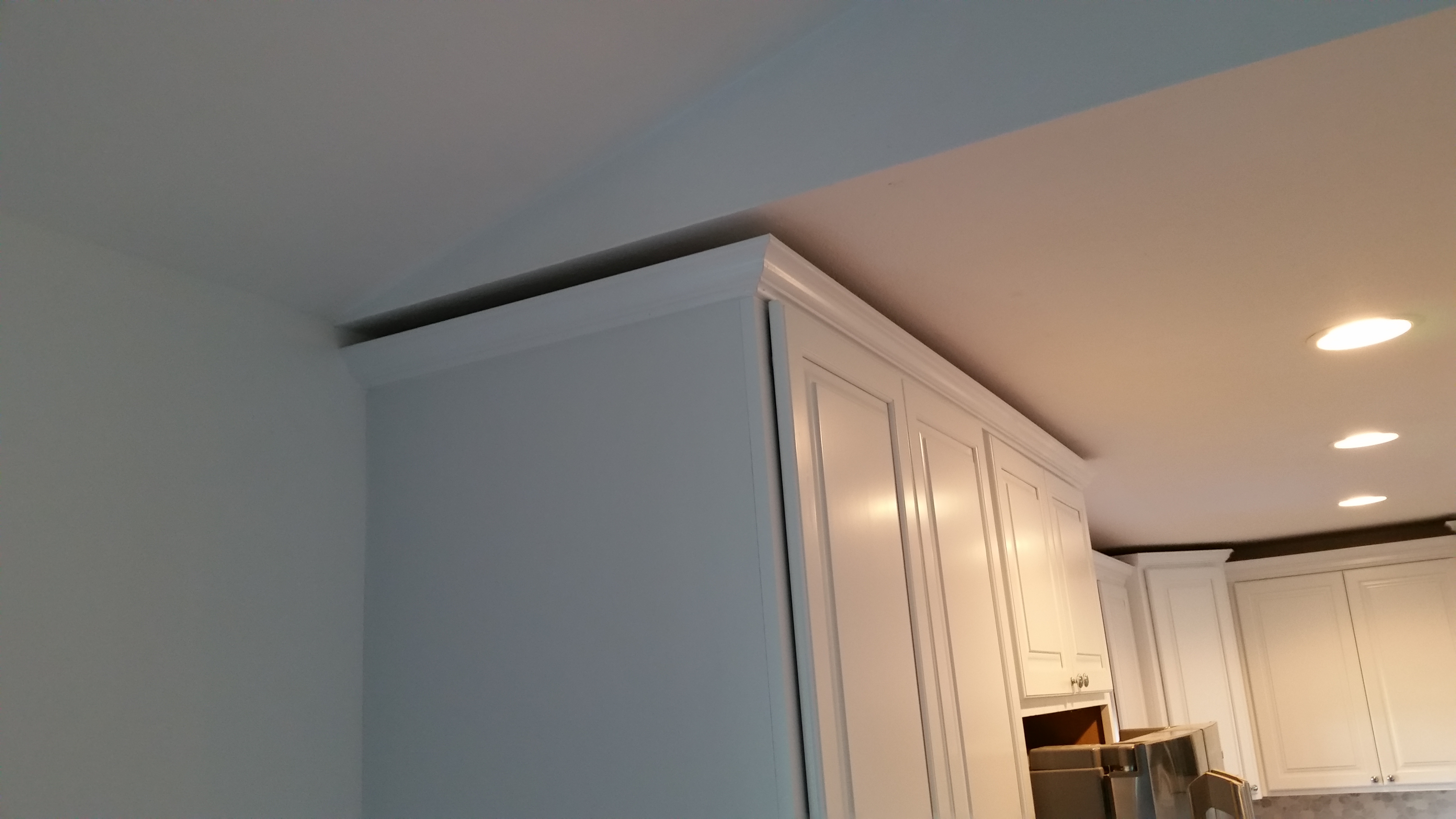 Cabinet and Trim Install
