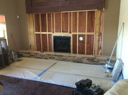 Fireplace Relocation