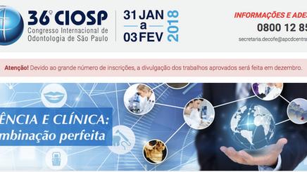 CIOSP 2018 - Curso com Prof. Dr. Gabriel Politano em 01-02-2018