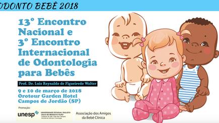 Encontro Internacional de Odontologia para Bebês em Campos do Jordão com presença do Prof. Dr. Gabri