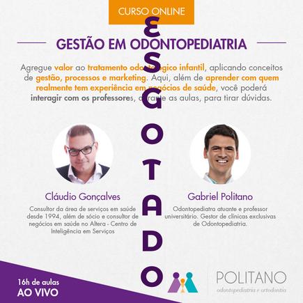 Curso de Gestão em Odontopediatria - 2018