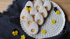 Linecké s lemon curd