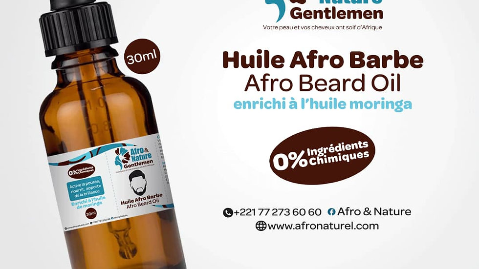 Huile Afro Barbe