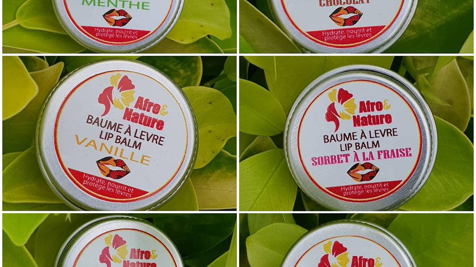 Nourishing and moisturizing lip balm (pot)