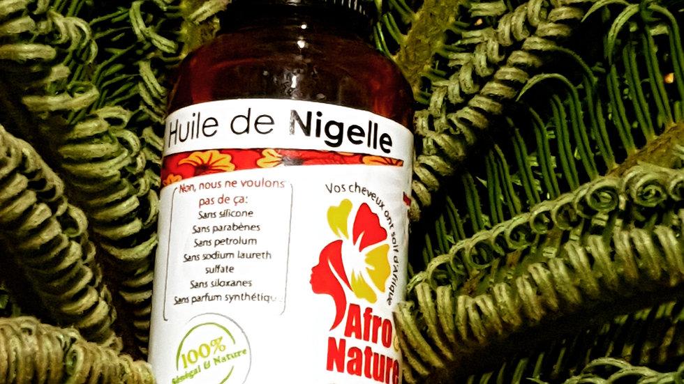 Huile de Nigelle ou Habbatou sawda / Nigella or black cumin oil