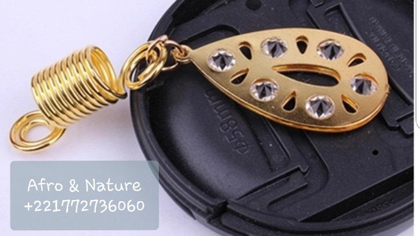 Bijoux pour tresses , twists et dreadlocks gm